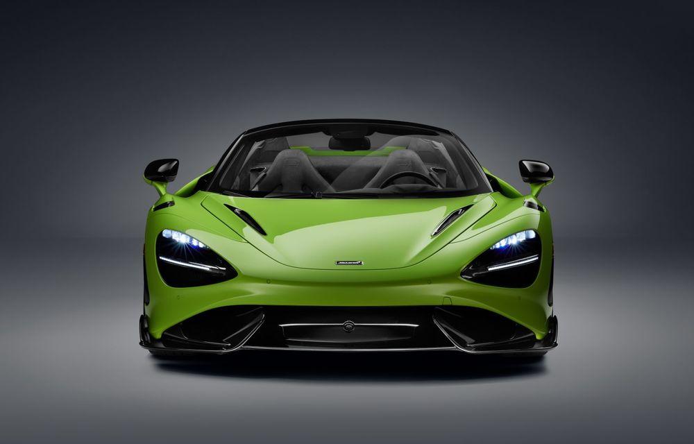McLaren lansează noul 765LT Spider: V8 de 765 CP și 0-100 km/h în 2.8 secunde - Poza 35