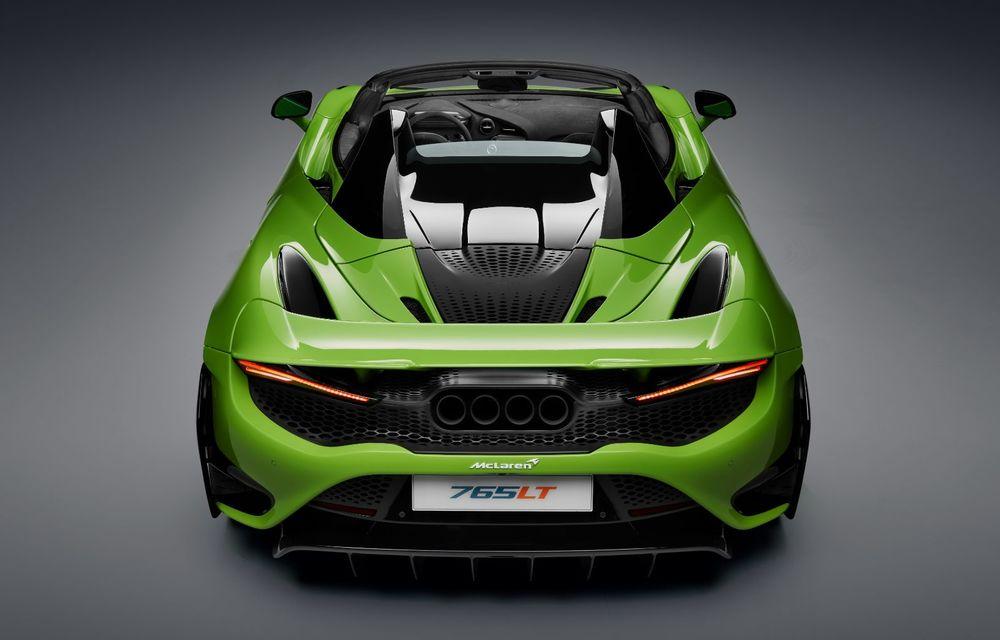 McLaren lansează noul 765LT Spider: V8 de 765 CP și 0-100 km/h în 2.8 secunde - Poza 36
