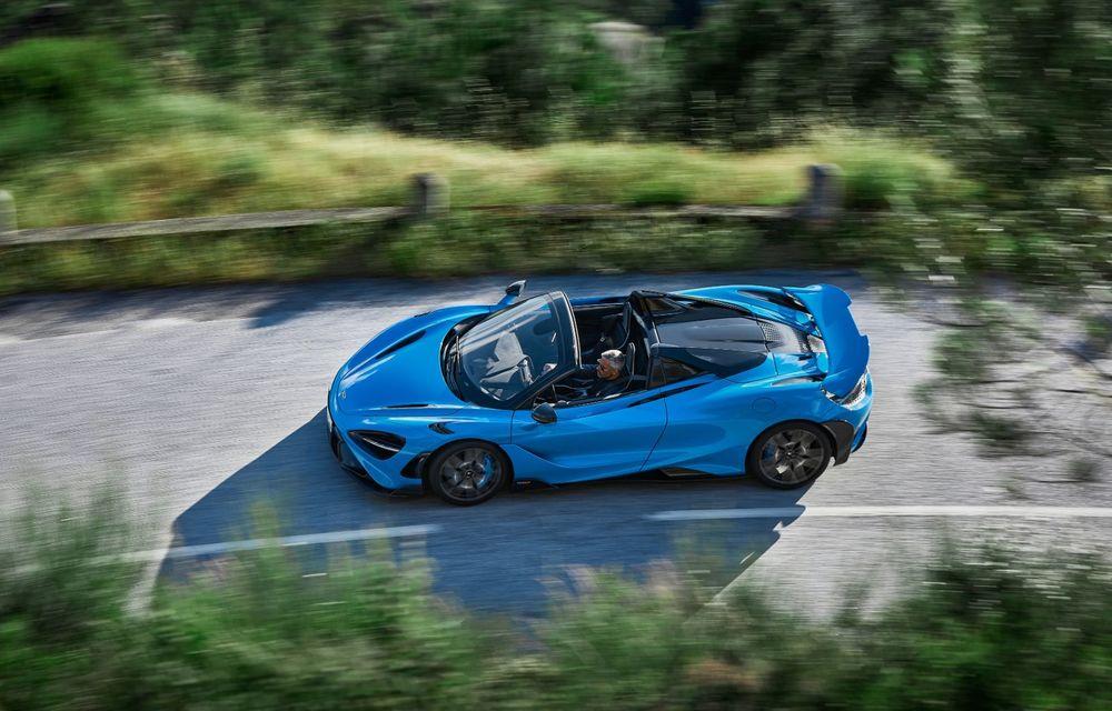 McLaren lansează noul 765LT Spider: V8 de 765 CP și 0-100 km/h în 2.8 secunde - Poza 11