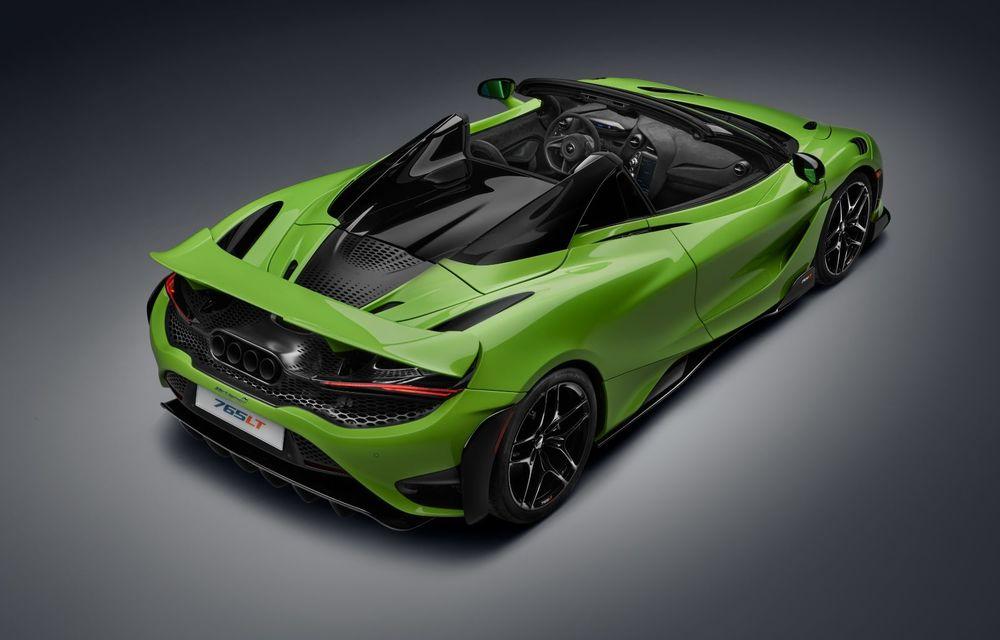 McLaren lansează noul 765LT Spider: V8 de 765 CP și 0-100 km/h în 2.8 secunde - Poza 34