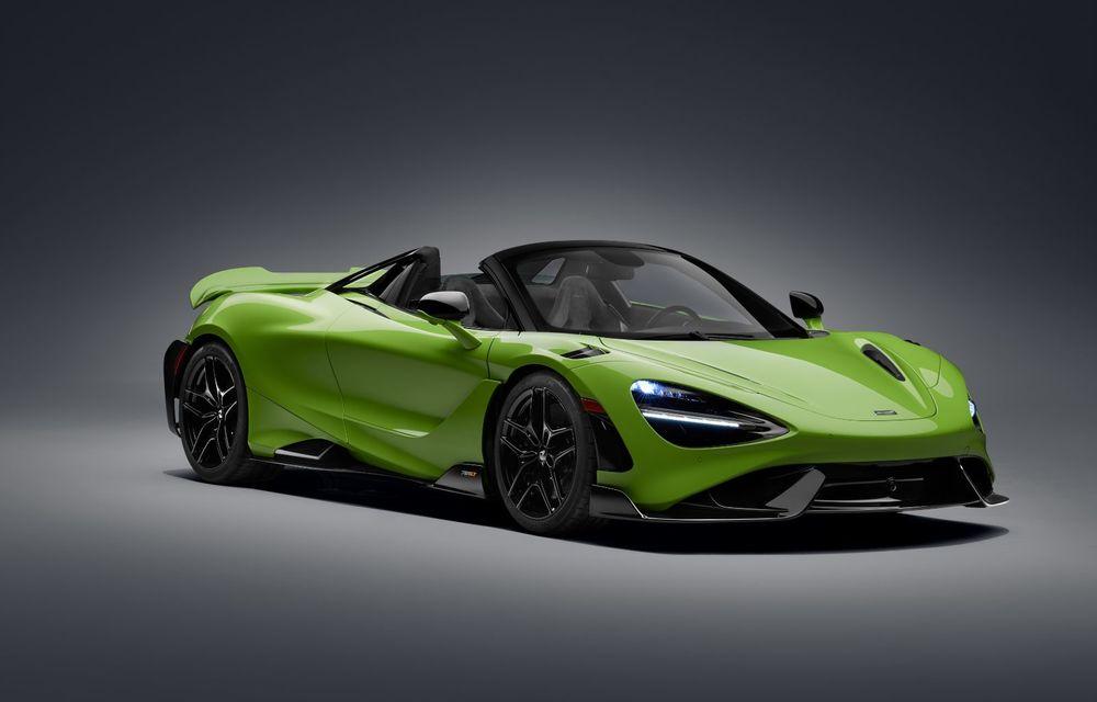 McLaren lansează noul 765LT Spider: V8 de 765 CP și 0-100 km/h în 2.8 secunde - Poza 32
