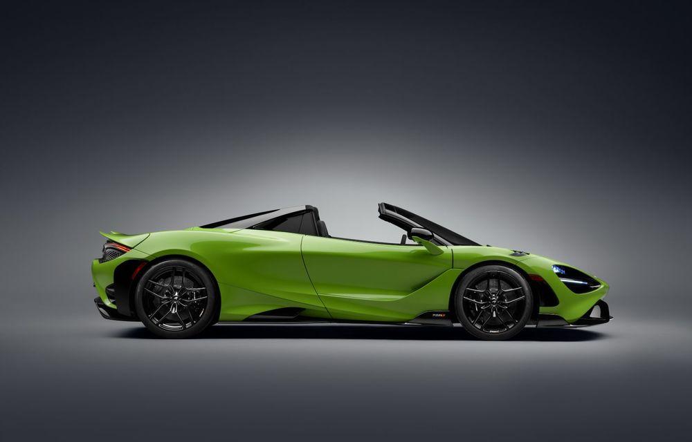 McLaren lansează noul 765LT Spider: V8 de 765 CP și 0-100 km/h în 2.8 secunde - Poza 33