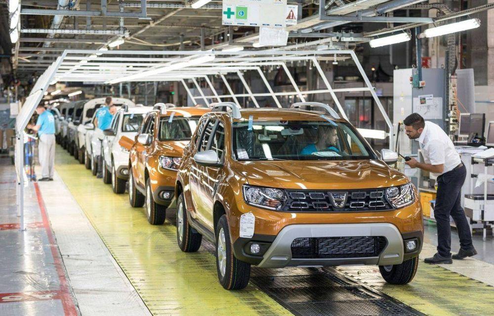 Dacia a oprit producția timp de trei zile din cauza crizei de semiconductori - Poza 1
