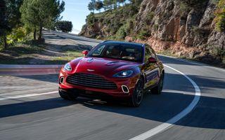 Vânzările Aston Martin au crescut cu 224%, peste jumătate din clienți au ales DBX