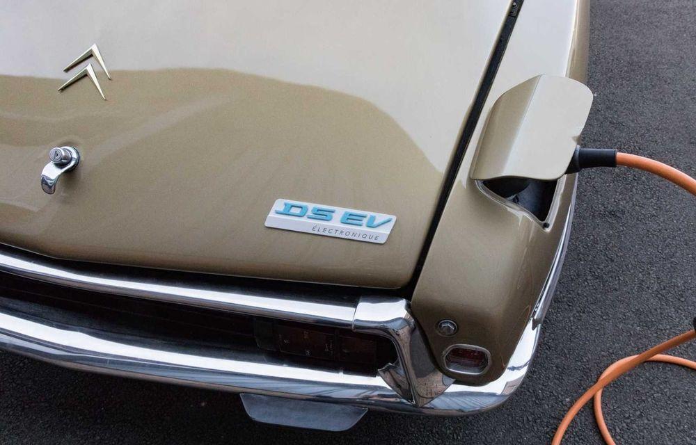 Celebrul Citroen DS renaște ca mașină electrică: cutie manuală și 320 de kilometri autonomie - Poza 8