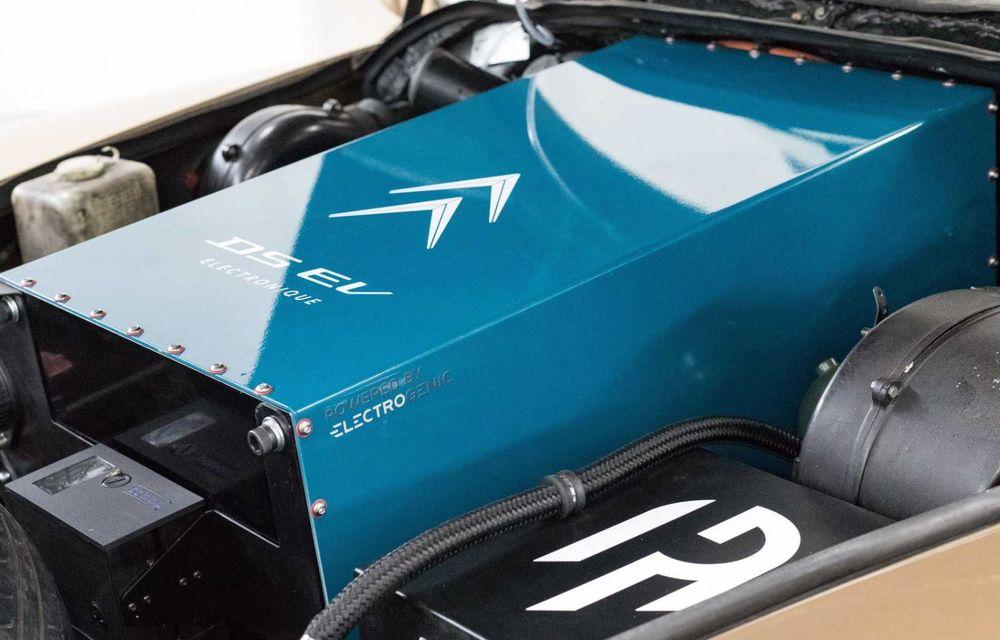 Celebrul Citroen DS renaște ca mașină electrică: cutie manuală și 320 de kilometri autonomie - Poza 10