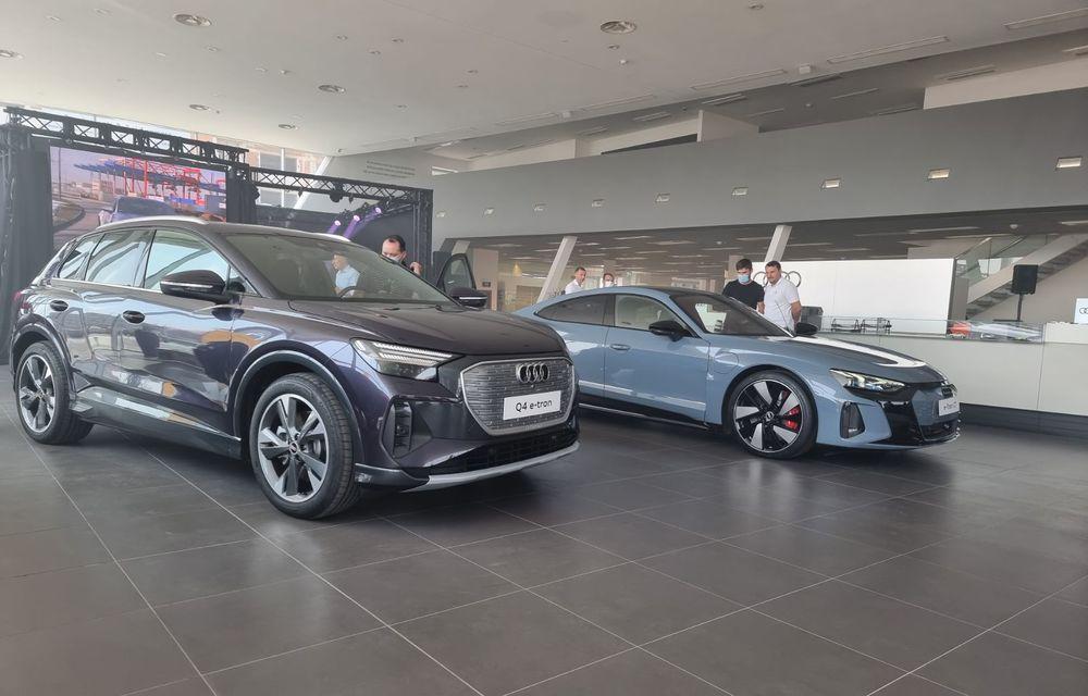 Noile Audi e-tron GT și Q4 e-tron au fost prezentate oficial în România - Poza 1