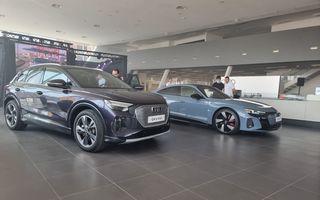 Noile Audi e-tron GT și Q4 e-tron au fost prezentate oficial în România