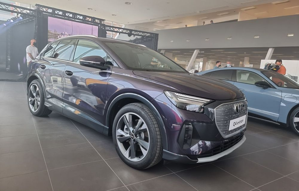 Noile Audi e-tron GT și Q4 e-tron au fost prezentate oficial în România - Poza 5