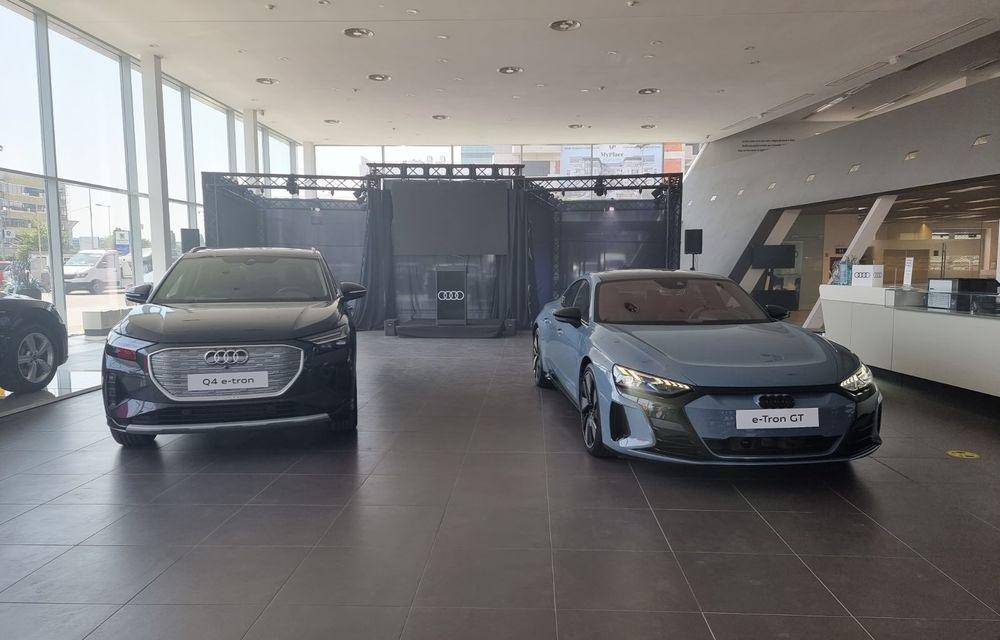 Noile Audi e-tron GT și Q4 e-tron au fost prezentate oficial în România - Poza 2