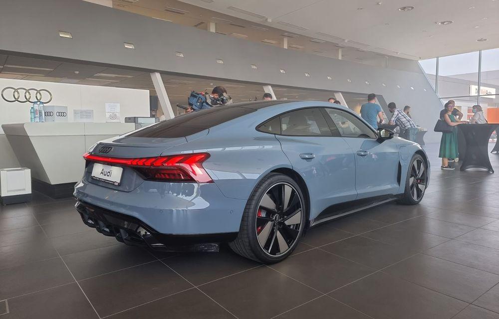 Noile Audi e-tron GT și Q4 e-tron au fost prezentate oficial în România - Poza 4