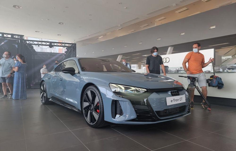 Noile Audi e-tron GT și Q4 e-tron au fost prezentate oficial în România - Poza 3