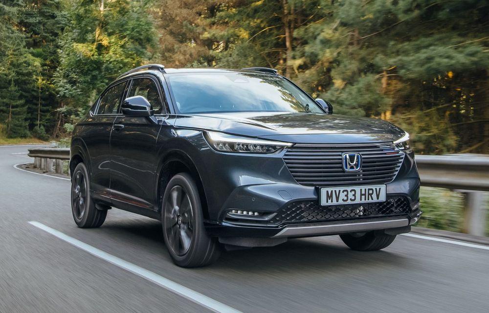 OFICIAL: Noua generație Honda HR-V, disponibilă doar cu motor hibrid în Europa - Poza 1