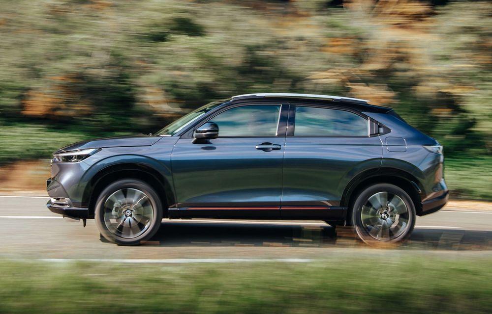 OFICIAL: Noua generație Honda HR-V, disponibilă doar cu motor hibrid în Europa - Poza 3