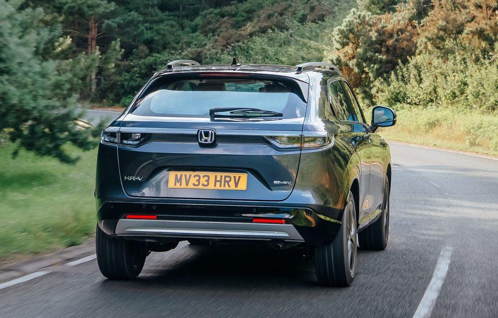 OFICIAL: Noua generație Honda HR-V, disponibilă doar cu motor hibrid în Europa - Poza 2