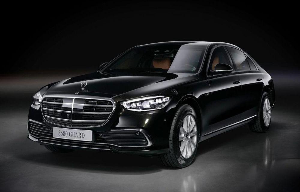 Noul Mercedes-Benz S680 Guard: versiunea blindată a limuzinei are 612 CP și cântărește 4.2 tone - Poza 1