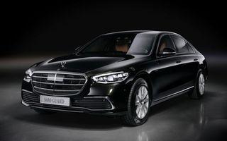 Noul Mercedes-Benz S680 Guard: versiunea blindată a limuzinei are 612 CP și cântărește 4.2 tone