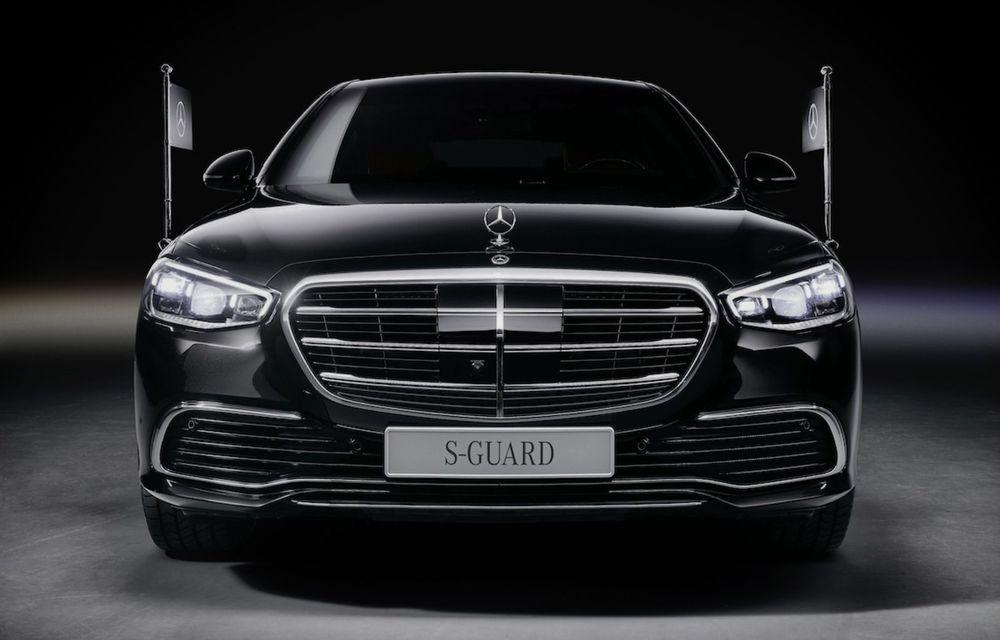 Noul Mercedes-Benz S680 Guard: versiunea blindată a limuzinei are 612 CP și cântărește 4.2 tone - Poza 2