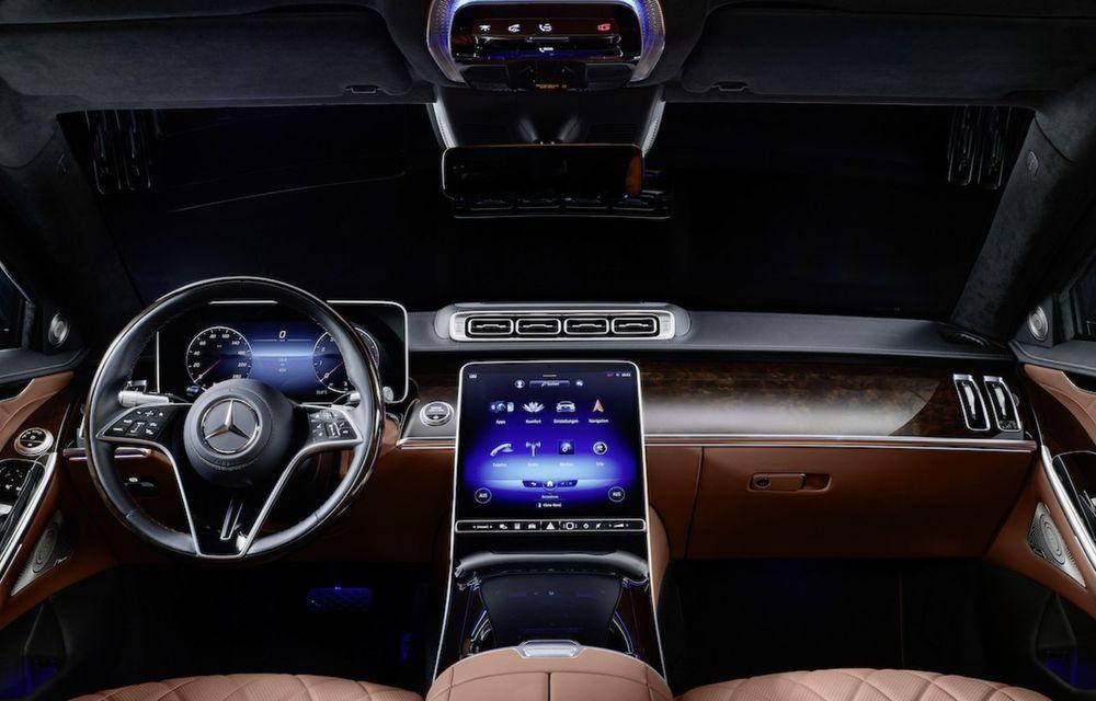 Noul Mercedes-Benz S680 Guard: versiunea blindată a limuzinei are 612 CP și cântărește 4.2 tone - Poza 4