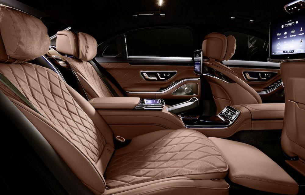 Noul Mercedes-Benz S680 Guard: versiunea blindată a limuzinei are 612 CP și cântărește 4.2 tone - Poza 5
