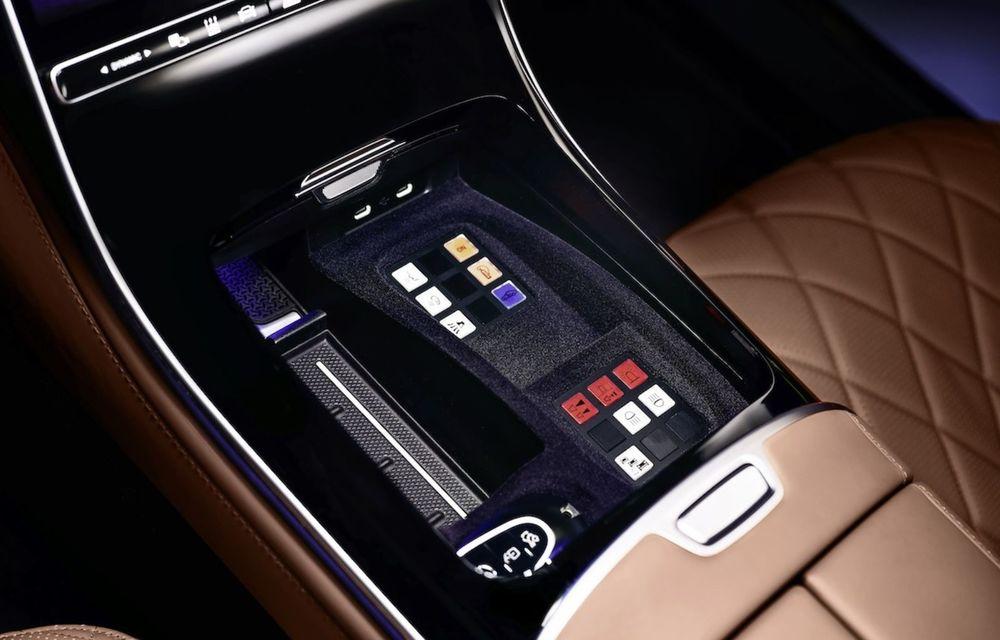 Noul Mercedes-Benz S680 Guard: versiunea blindată a limuzinei are 612 CP și cântărește 4.2 tone - Poza 6