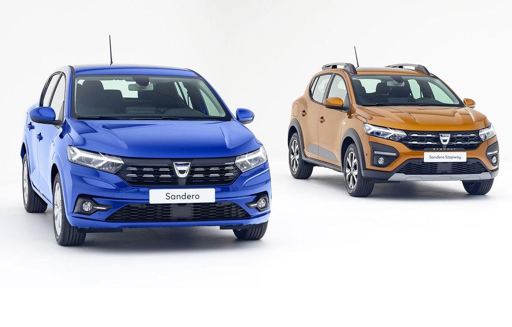 Dacia Sandero este a treia cea mai vândută mașină din Europa în iunie - Poza 1