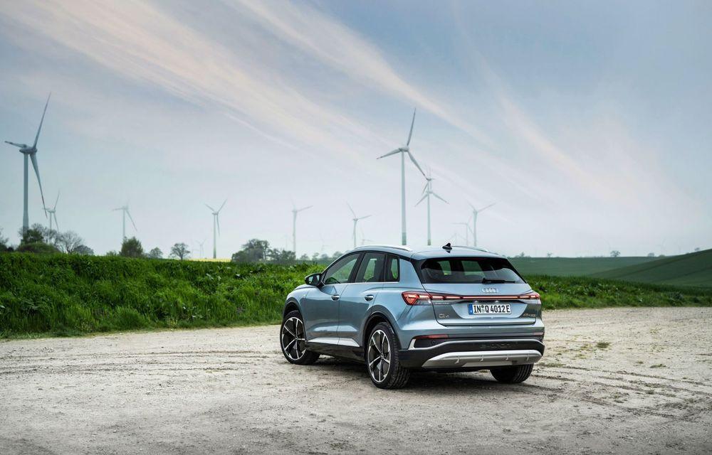 Audi lansează două versiuni noi pentru Q4 e-tron: autonomie de până la 534 de kilometri - Poza 4