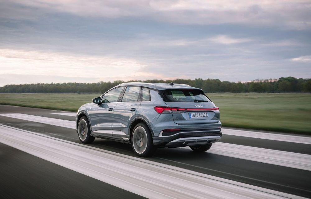 Audi lansează două versiuni noi pentru Q4 e-tron: autonomie de până la 534 de kilometri - Poza 5