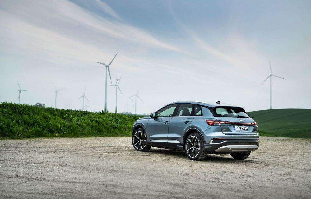 Audi lansează două versiuni noi pentru Q4 e-tron: autonomie de până la 534 de kilometri - Poza 3