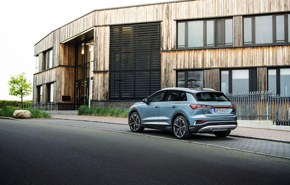 Audi lansează două versiuni noi pentru Q4 e-tron: autonomie de până la 534 de kilometri - Poza 6