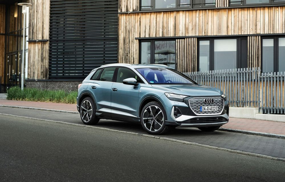 Audi lansează două versiuni noi pentru Q4 e-tron: autonomie de până la 534 de kilometri - Poza 1