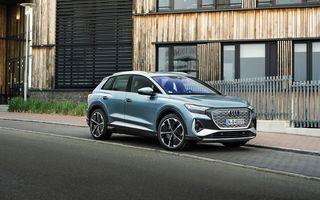 Audi lansează două versiuni noi pentru Q4 e-tron: autonomie de până la 534 de kilometri