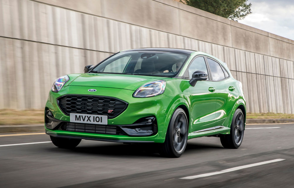 Puma, cel mai bine vândut model Ford din Europa în primele 6 luni - Poza 1