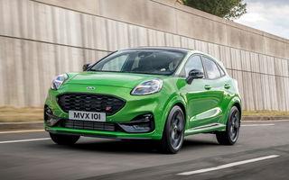 Puma, cel mai bine vândut model Ford din Europa în primele 6 luni