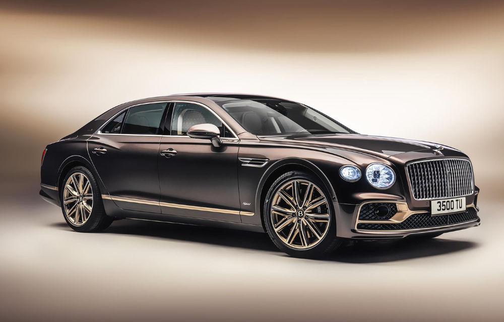 Bentley Flying Spur Hybrid Odyssean Edition: producție limitată și materiale sustenabile pentru interior - Poza 1