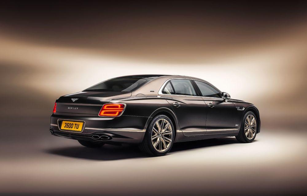 Bentley Flying Spur Hybrid Odyssean Edition: producție limitată și materiale sustenabile pentru interior - Poza 2