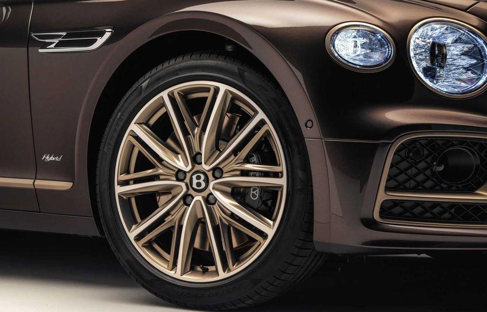 Bentley Flying Spur Hybrid Odyssean Edition: producție limitată și materiale sustenabile pentru interior - Poza 9