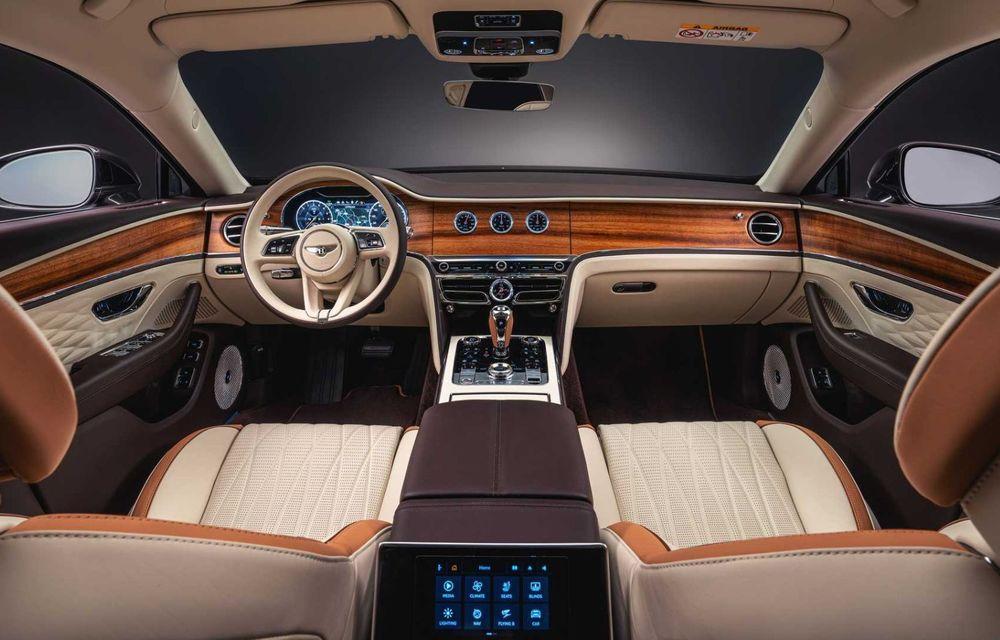 Bentley Flying Spur Hybrid Odyssean Edition: producție limitată și materiale sustenabile pentru interior - Poza 4