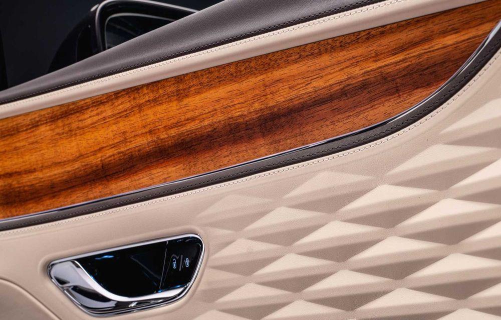 Bentley Flying Spur Hybrid Odyssean Edition: producție limitată și materiale sustenabile pentru interior - Poza 7