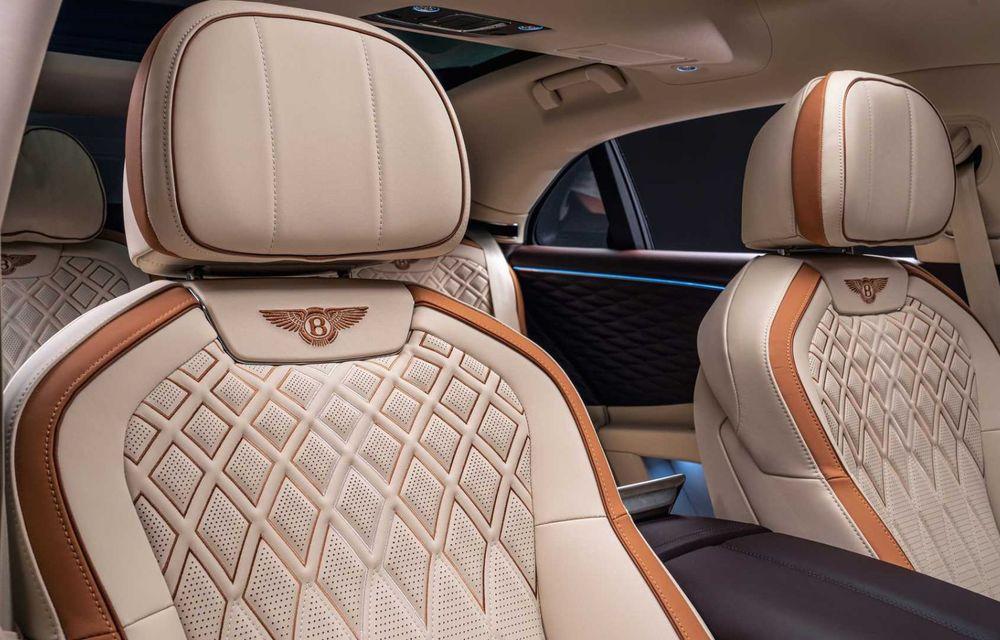 Bentley Flying Spur Hybrid Odyssean Edition: producție limitată și materiale sustenabile pentru interior - Poza 5