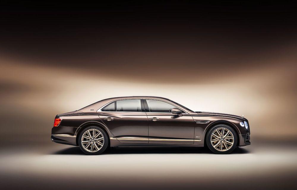 Bentley Flying Spur Hybrid Odyssean Edition: producție limitată și materiale sustenabile pentru interior - Poza 3