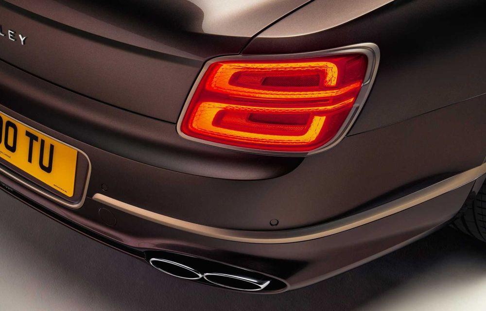 Bentley Flying Spur Hybrid Odyssean Edition: producție limitată și materiale sustenabile pentru interior - Poza 10