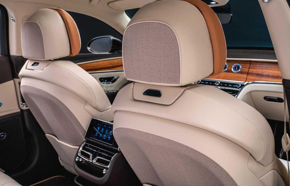 Bentley Flying Spur Hybrid Odyssean Edition: producție limitată și materiale sustenabile pentru interior - Poza 6