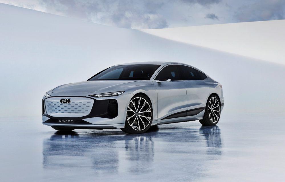 Versiunea de producție a conceptului Audi A6 e-tron ar putea debuta în 2022 - Poza 1