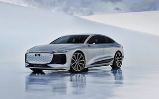 Versiunea de producție a conceptului Audi A6 e-tron ar putea debuta în 2022