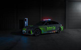 Noul BMW i4 M50 a devenit Safety Car în campionatul dedicat motocicletelor electrice