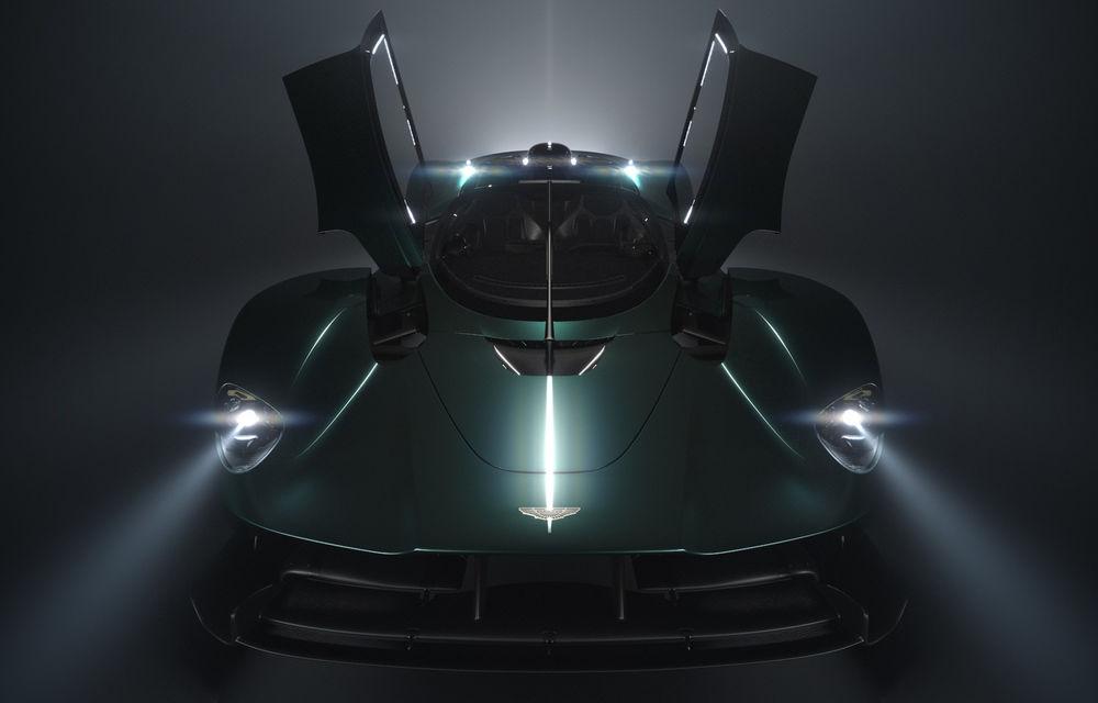 Aston Martin Valkyrie Roadster este așteptat să debuteze la Concursul de Eleganță de la Pebble Beach - Poza 1