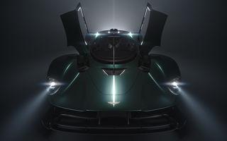 Aston Martin Valkyrie Roadster este așteptat să debuteze la Concursul de Eleganță de la Pebble Beach