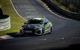 Audi RS3 a doborât recordul de pe Nürburgring în segmentul compact