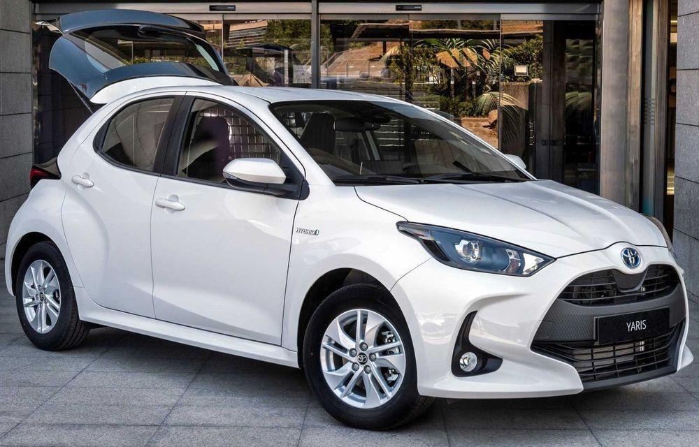 Toyota Yaris ECOVan: utilitară cu 720 de litri spațiu de încărcare, disponibilă momentan doar în Spania - Poza 2